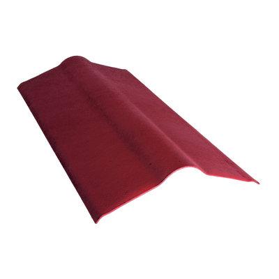 Colmo Onduline in fibrobitume color rosso 50 x 10 cm, L 100 cm