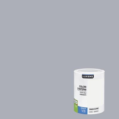 Idropittura lavabile Mano unica Argento - 0,75 L Luxens