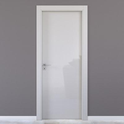 Porta da interno battente Massaua silk 80 x H 210 cm dx