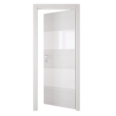 Porta da interno battente Melangè bianco 70 x H 210 cm dx