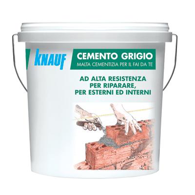 Cemento grigio Knauf 5 kg