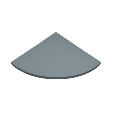 Mensola angolare Spaceo grigio L 35 x P 35, sp 1,8 cm