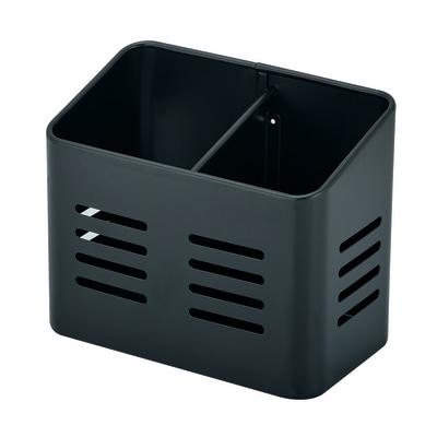 Porta posate e mestoli nero L 15,8 x P 9 x H 13 cm