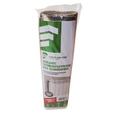 Rotolo riflettente per caloriferi in polietilene Riflettente caloriferi Fortlan L 1000 mm x H 700 mm, spessore 3 mm