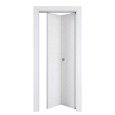 Porta da interno pieghevole Hunk cemento calce 70 x H 210 cm dx