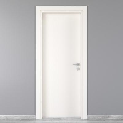 Porta da interno battente Moma bianco 70 x H 210 cm sx