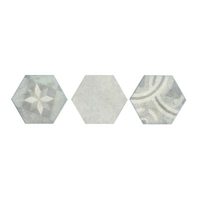 Piastrella Esagona Loft 15 x 17,3 cm avorio
