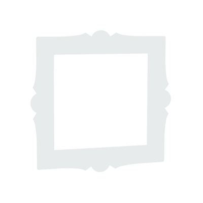 Cornice quadrata Spaceo bianco L 30 x P 30, sp 1 cm