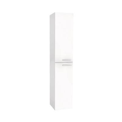 Colonna Elea bianco 2 ante L 35 x H 162 x P 35 cm