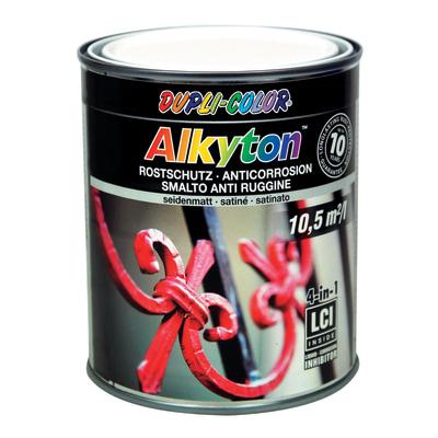 Smalto per ferro antiruggine Alkyton bianco RAL 9010 satinato 0,75 L