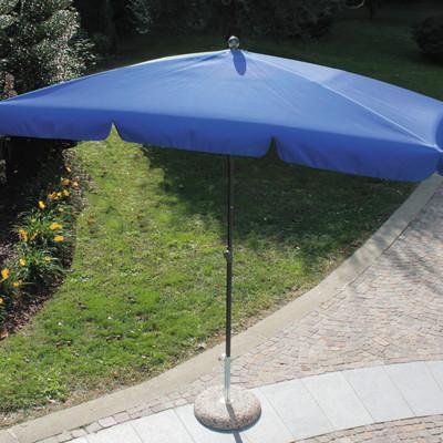 Ombrellone 2,2 x 1,2 m blu