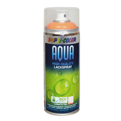 Smalto spray Aqua arancio pastello RAL 2003 Lucido 350 ml
