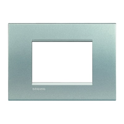 Placca 3 moduli BTicino Livinglight tech