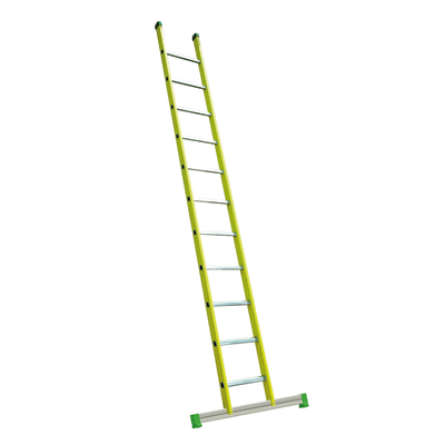 Scala ad appoggio alluminio Facal 11 gradini, per lavori fino a 4,4 m