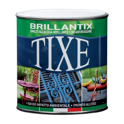 Smalto per ferro antiruggine Tixe Brillantix marrone brillante 0,25 L
