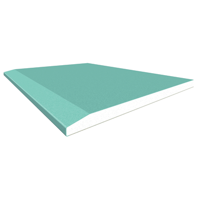 Lastra di cartongesso idrofuga 90 x 125 cm, spessore 13 mm