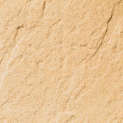 Piastrella 40 x 40 cm Rustica gialla, spessore 4 cm
