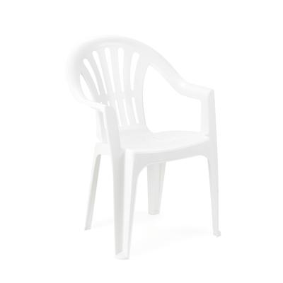 Sedia impilabile Kona bianco