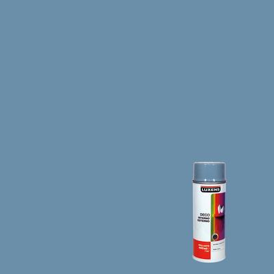 Smalto spray Deco Luxens grigio argento RAL 7001 brillante 400 ml