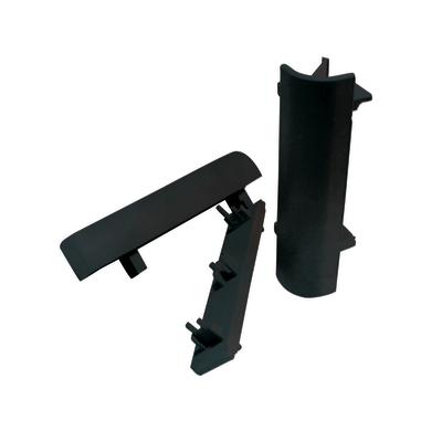 Accessori per zoccolino PVC nero