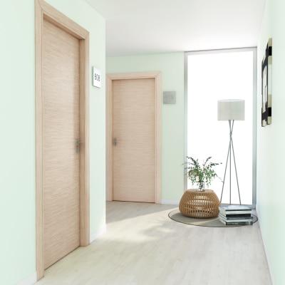 Porta per hotel battente Radisson oak rovere sbiancato 80 x H 210 cm dx