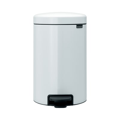 Pattumiera Pedal Bin New Icon 12 L bianco