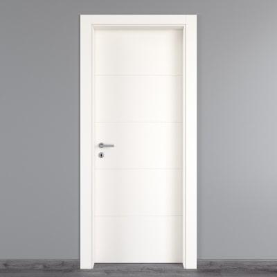 Porta da interno battente Prado bianco 80 x H 210 cm dx