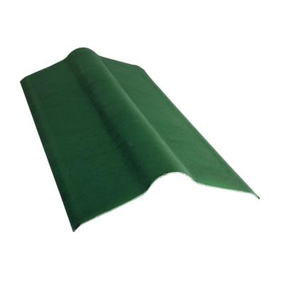 Colmo Onduline in fibrobitume color verde 50 x 10 cm, L 100 cm