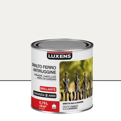 Smalto per ferro antiruggine Luxens bianco brillante 0,75 L
