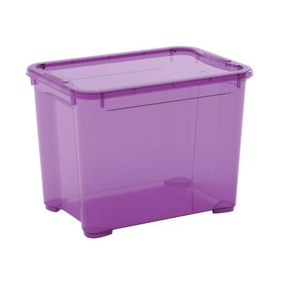 Scatola T Box S L 38 x P 26,5 x H 28,5 cm viola