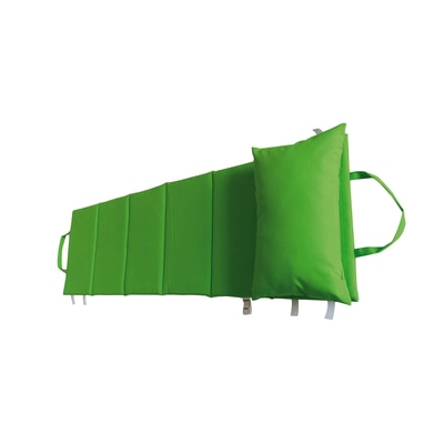 Cuscino verde chiaro 64 x 199 cm