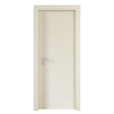 Porta da interno battente Wind ivory avorio 80 x H 210 cm dx