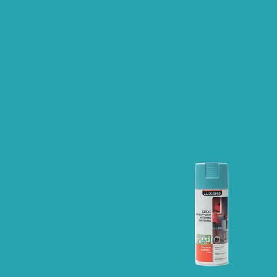Smalto spray Deco Luxens Blu Atollo 3 brillante 400 ml