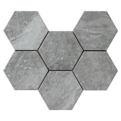 Piastrella Bristol 21 x 18,2 cm grigio