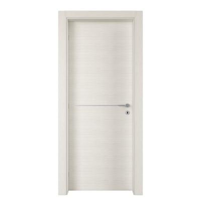Porta da interno battente Hollow bianco matrix 70 x H 210 cm sx