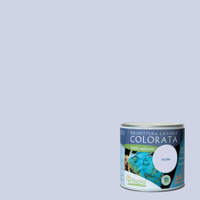 Idropittura lavabile Bio glicine 2,5 L Nativa