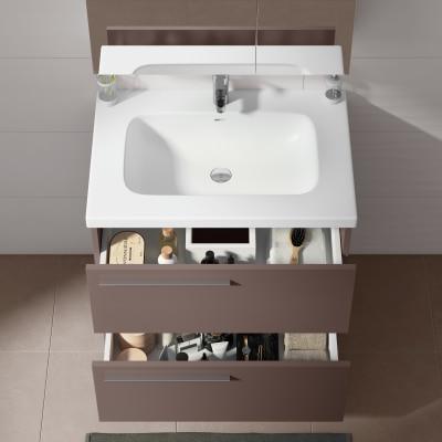 Mobile bagno Elea marrone L 71,5 cm