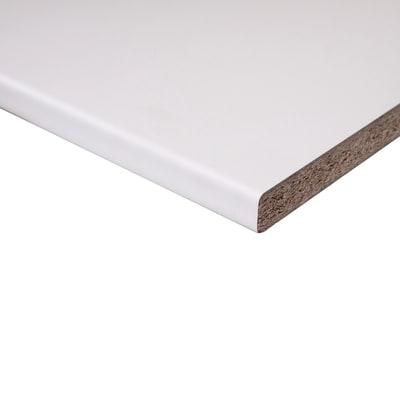 Piano cucina laminato bianco 2.8 x 60 x 304 cm