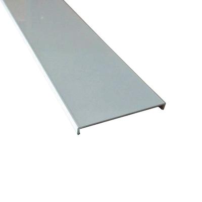 Profilo perimetrale ReadyBlock GlassCover quadro bianco 2,5 m, 8,53 x 1,7 cm