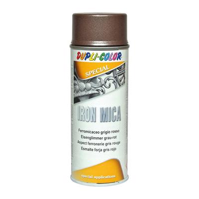 Smalto per ferro antiruggine spray Iron grigio bronzo antichizzato 0,4 L