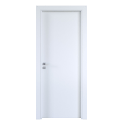 Porta per hotel battente Radisson white bianco 90 x H 210 cm dx