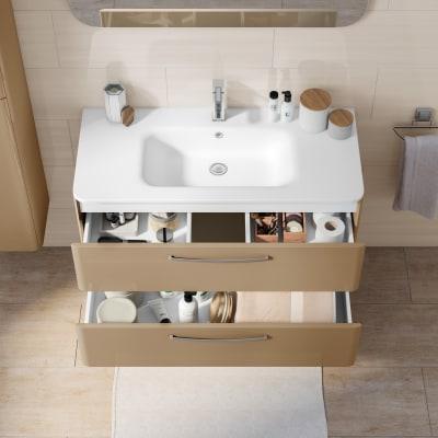 Mobile bagno Best visone L 101 cm