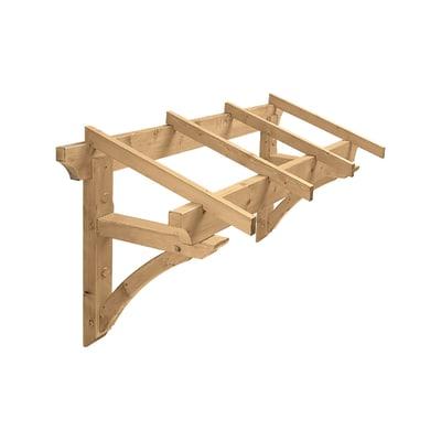 Tettoia in legno l 160 x p 80 cm prezzi e offerte online for Tettoia legno leroy merlin