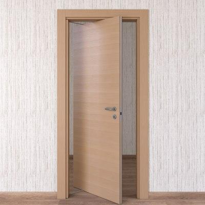 Porta da interno rototraslante Sheraton rovere naturale 70 x H 210 cm sx