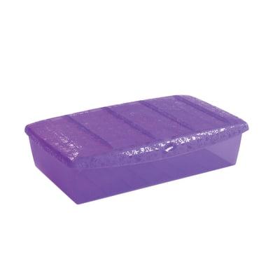 Scatola Scarpabox L 57 x P 36 x H 15,5 cm viola