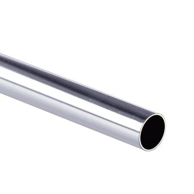 Tubo appendiabiti cromo L 100 cm