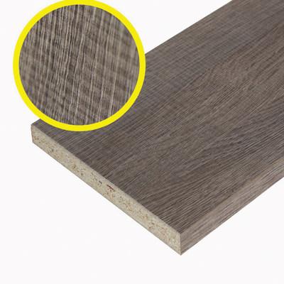 Pannello melaminico rovere medio 18 x 200 x 1200 mm