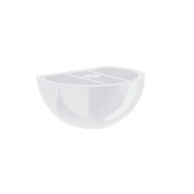 Reggimensola Globe bianco 5 x 8 cm