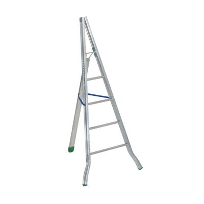 Scala agricola alluminio Facal 4 gradini, per lavori fino a 3 m