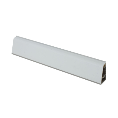 Alzatina su misura Ghiaccio alluminio bianco H 3 cm